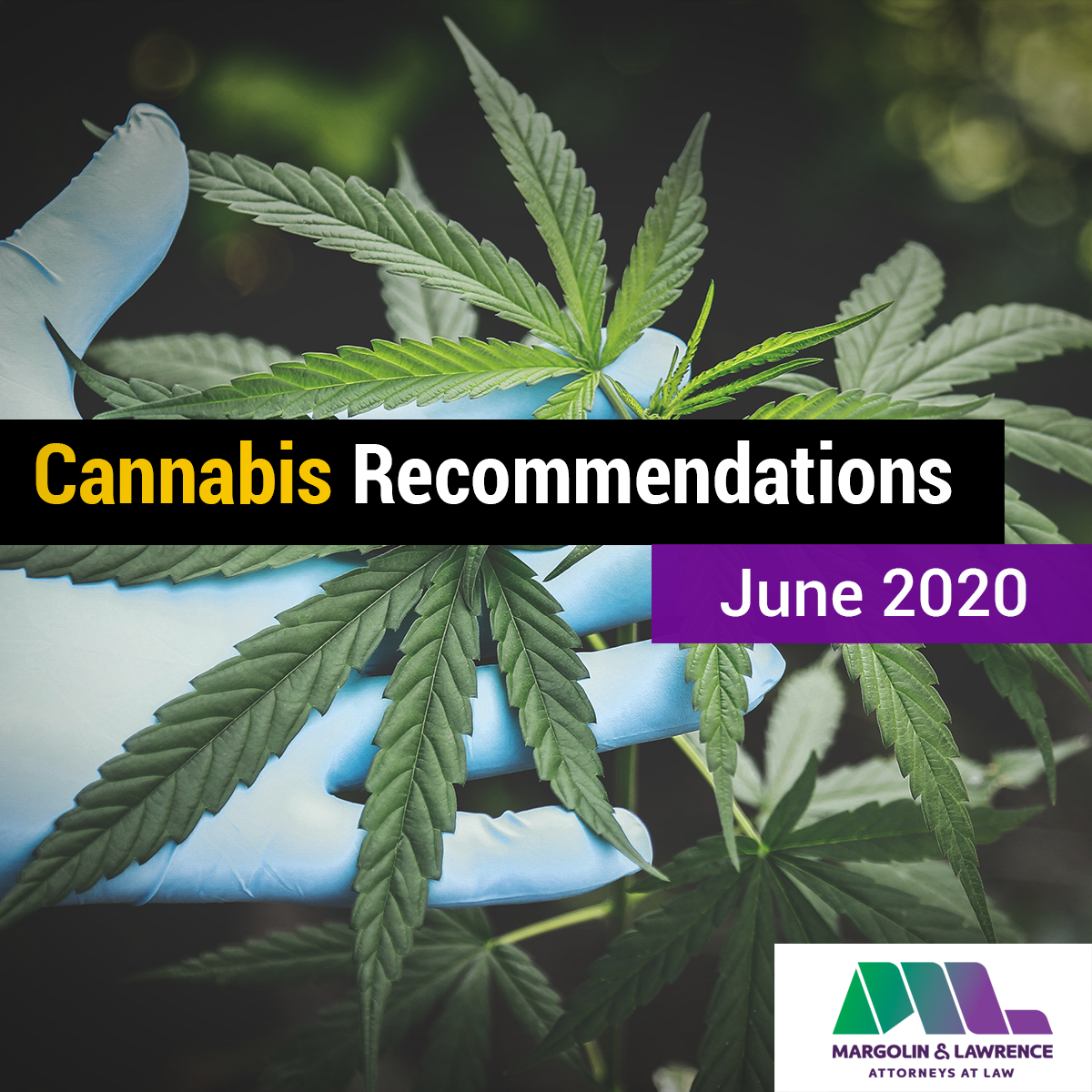 Cannabis Recommendations June 2020