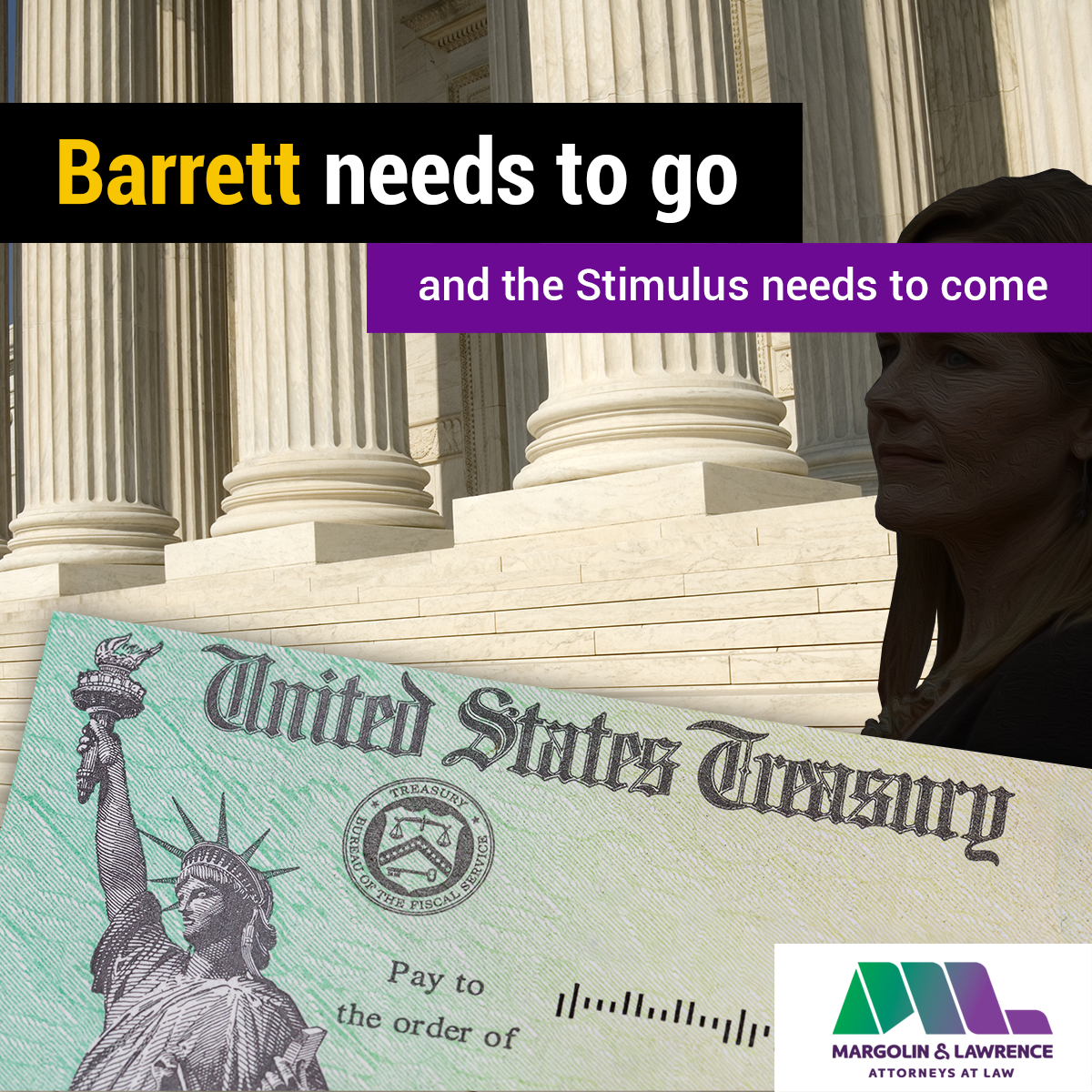 Barrett needs to go, and the Stimulus needs to come