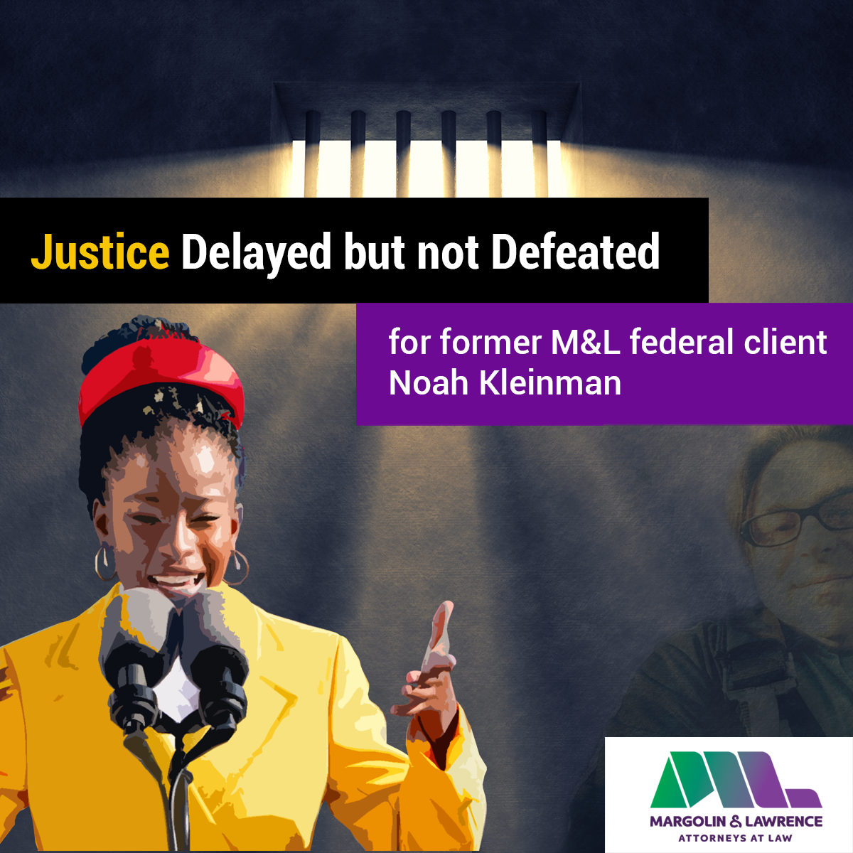 justice delayed but not defeated for Noah Kleinman