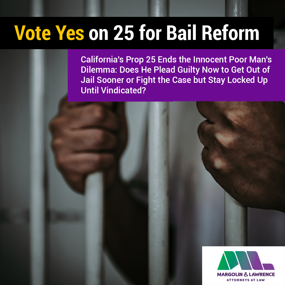 Vote yes on 25 for bail reform